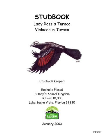 STUDBOOK - Library - San Diego Zoo