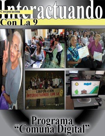 """Corporación Interactuando Con La 9 """"Si lo puedes ... - Conla9.org"""
