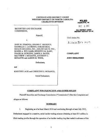 SEC Complaint: Francois E. Durmaz (aka Mahmut E. Durmaz) et al.