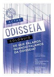 Consulte aqui as Actas do Colóquio Odisseia - Teatro Nacional São ...