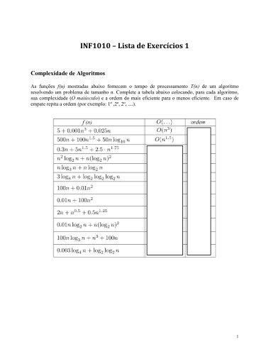 Lista de Exercícios 1 - Tecgraf
