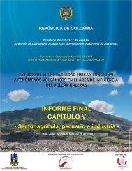 INFORME FINAL CAPÍTULO V - Sector agrícola, pecuario e ... - Osso