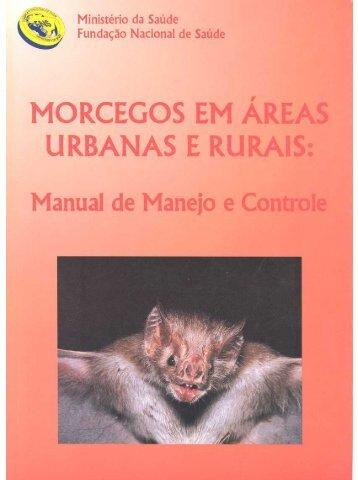 Morcegos em áreas urbanas e rurais - Governo do Estado do Pará