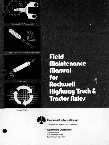 Rockwell Field Maintenance Manual.pdf - Wanderlodge Owners ...
