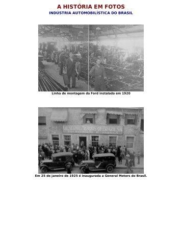 A HISTÓRIA EM FOTOS - Veteran Car Club de Joinville