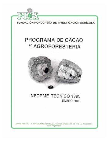Programa de Cacao y Agroforestería - FHIA