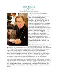 Lifetime Achievement Award Recipient - Lost Art Originals