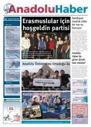 Erasmuslular için hoşgeldin partisi - Anadolu Haber Gazetesi ...