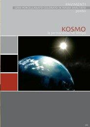 Catalogo Kosmo - Progetto Baucer