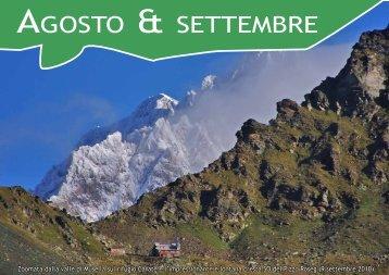 Monte Muretto e piz Fedoz, Painale, Combolo, pizzo Porola, spigolo ...