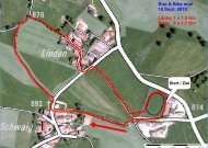 Run & Bike mini 18.Sept. 2010 Läufer 1 x 1.5 Km Biker 2 ... - Wildsteig
