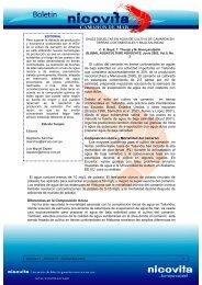 El cultivo del camarón en tierras continentales en aguas de ... - Alicorp