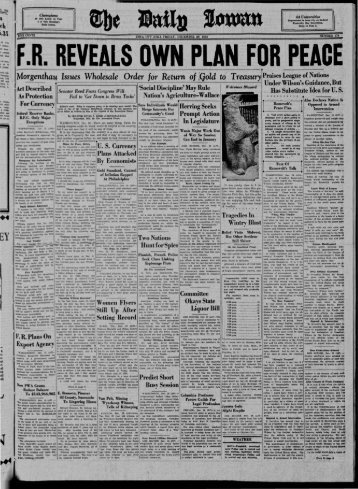 Daily Iowan (Iowa City, Iowa), 1933-12-29