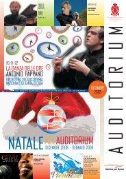 giornalone0812 - Auditorium Parco della Musica