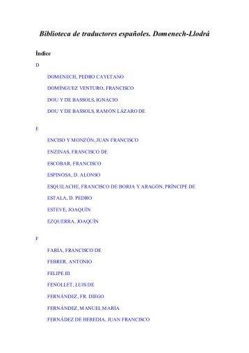 notas a pie de página - Biblioteca Virtual Miguel de Cervantes