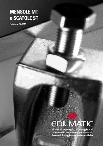 Catalogo Generale Mensole MT e Scatole ST - Edilmatic