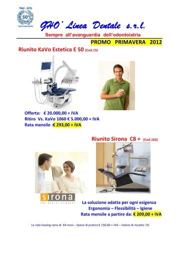 promo marzo 2012 generale - Ghò Linea Dentale Srl