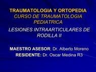 traumatologia y ortopedia curso de fracturas en niños