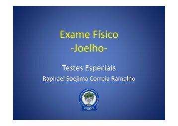 Exame de Joelho - Prodot