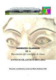 anno scolastico 2011-2012 - Liceo Statale