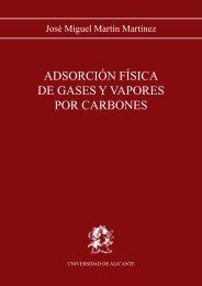 Adsorción física de gases y vapores por carbones - Publicaciones ...