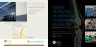 programa cirugia menisco - Torres Pardo
