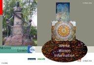 Werte Wissen Information - Klaus Woltron