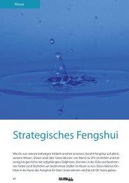 Strategisches Fengshui