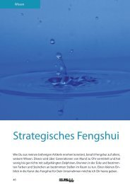 Strategisches Fengshui