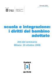 Scuola e integrazione: i diritti del bambino adottato - Portale per l ...