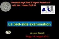 La bed-side examination - Altervista