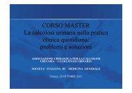 Presentazione del corso ed obiettivi Silvana Saullo, MMG ASL 8 ...