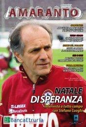 Amaranto magazine dicembre 2007