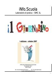 iNfo.Scuola - Centro Professionale Commerciale Chiasso