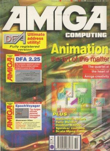 Amiga Computing - Commodore Is Awesome