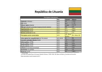 República de Lituania - Secretaría de Economía