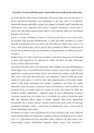 metrica indoeuropea_20112012 - Filologia, Letteratura e Linguistica
