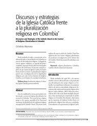 Discursos y estrategias de la Iglesia Católica frente a la ...