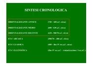 orientalizzazione - Liceo Statale C. Montanari
