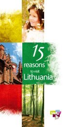 15 reasons to visit Lithuania