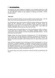 A. SECTOR MADERAS Los productos del sector maderas ... - Siicex