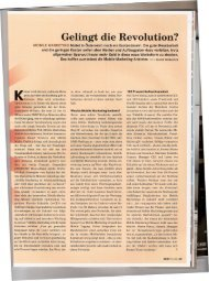 Gelingt die Revolution? - Out There Media