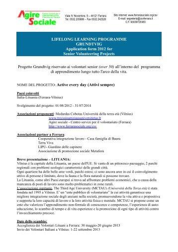 Progetto Ferrara-Vilnius-2.pdf - Sociale