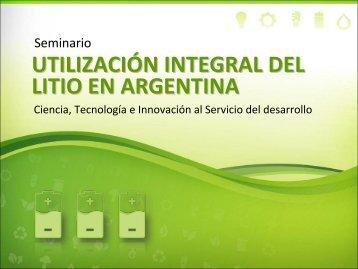 UNLP - Ministerio de Ciencia, Tecnología e Innovación Productiva