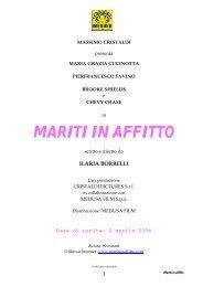 MARITI IN AFFITTO - Studio Morabito