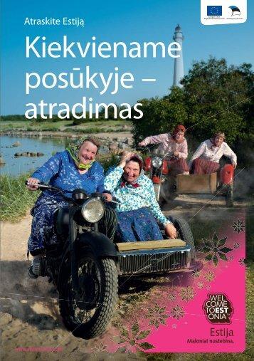 Atraskite Estiją