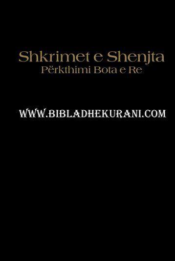 BIBLA e D-Jehovait.pdf - Bibla dhe Kur'ani