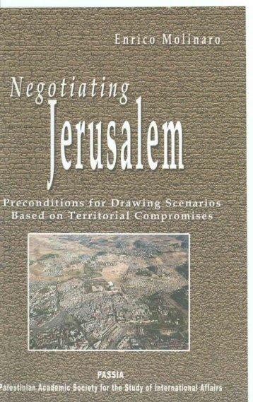 Negotiating Jerusalem - PASSIA Online Store
