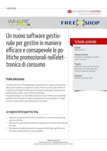 Free Shop - Catena Trony - Informatica Centro srl