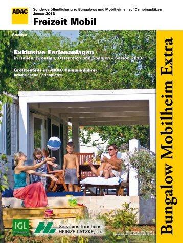 Anzeigen-Sonderveröffentlichung Bungalow-Mobilheim